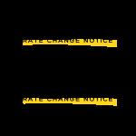 rate notice change
